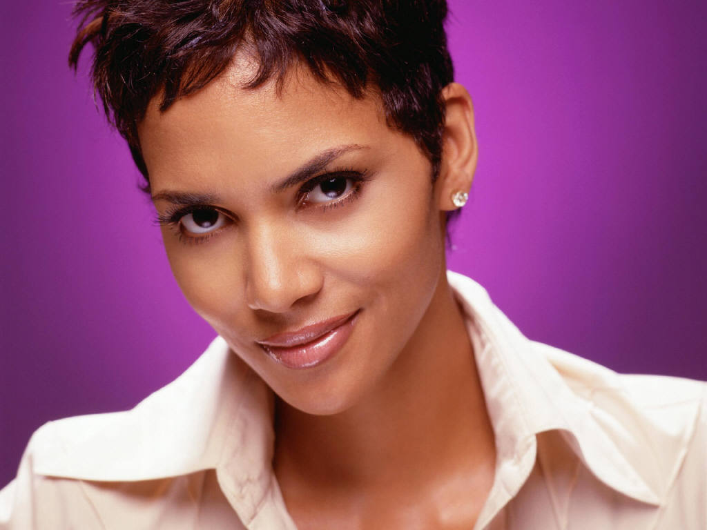 halle berry short hairstyles. 1024 x 768.Hairstyles Now And Then