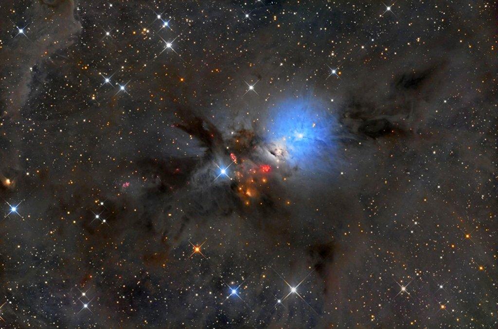 NGC 1333, una guardería estelar en Perseo