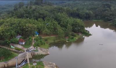 Wisata Air di Bendungan Cipogas Rokan Hulu