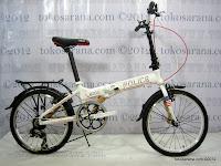 A 20 Inch Element 911 Police Folding Bike