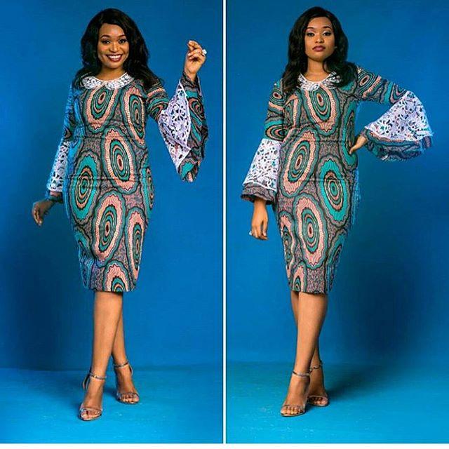 Scintillating Ankara Short Gown Styles for Beautiful Ladies ...