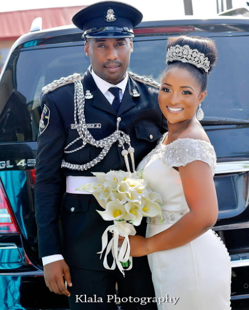 lagos police spokesperson wedding