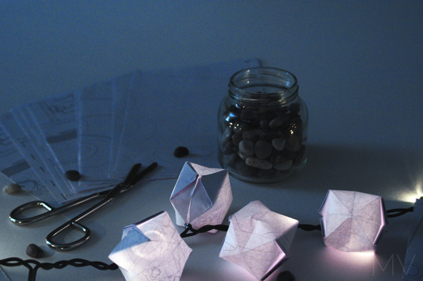 DIY | SIMPLE MINI PAPER LANTERNS