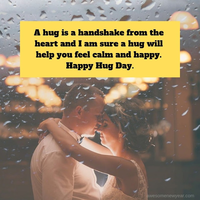 best  #HugDay Wishes for husband