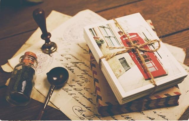 Troca de cartas projeto de mim para você