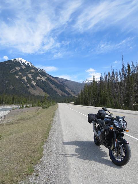 Aprilia Tuono Highway 93 BC