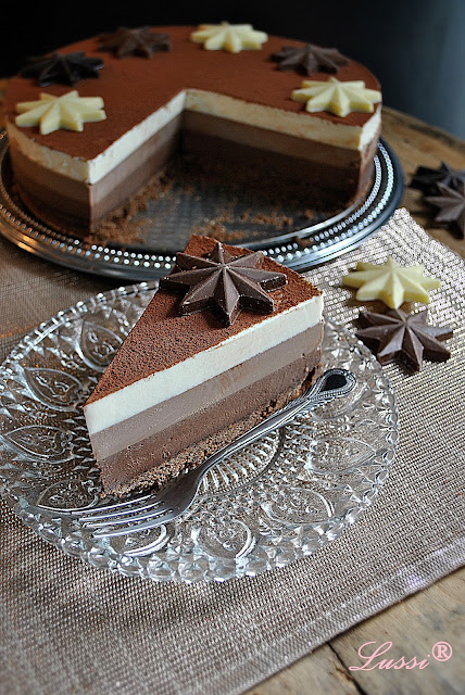 Торта Три шоколада / Triple Chocolate Cake