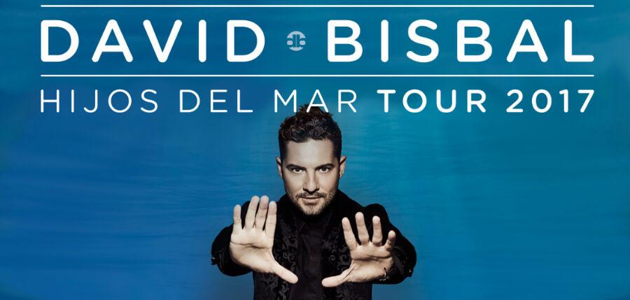 David Bisbal, Hijos Del Mar Tour 2017, Almeria, venta entradas, fechas, lugares