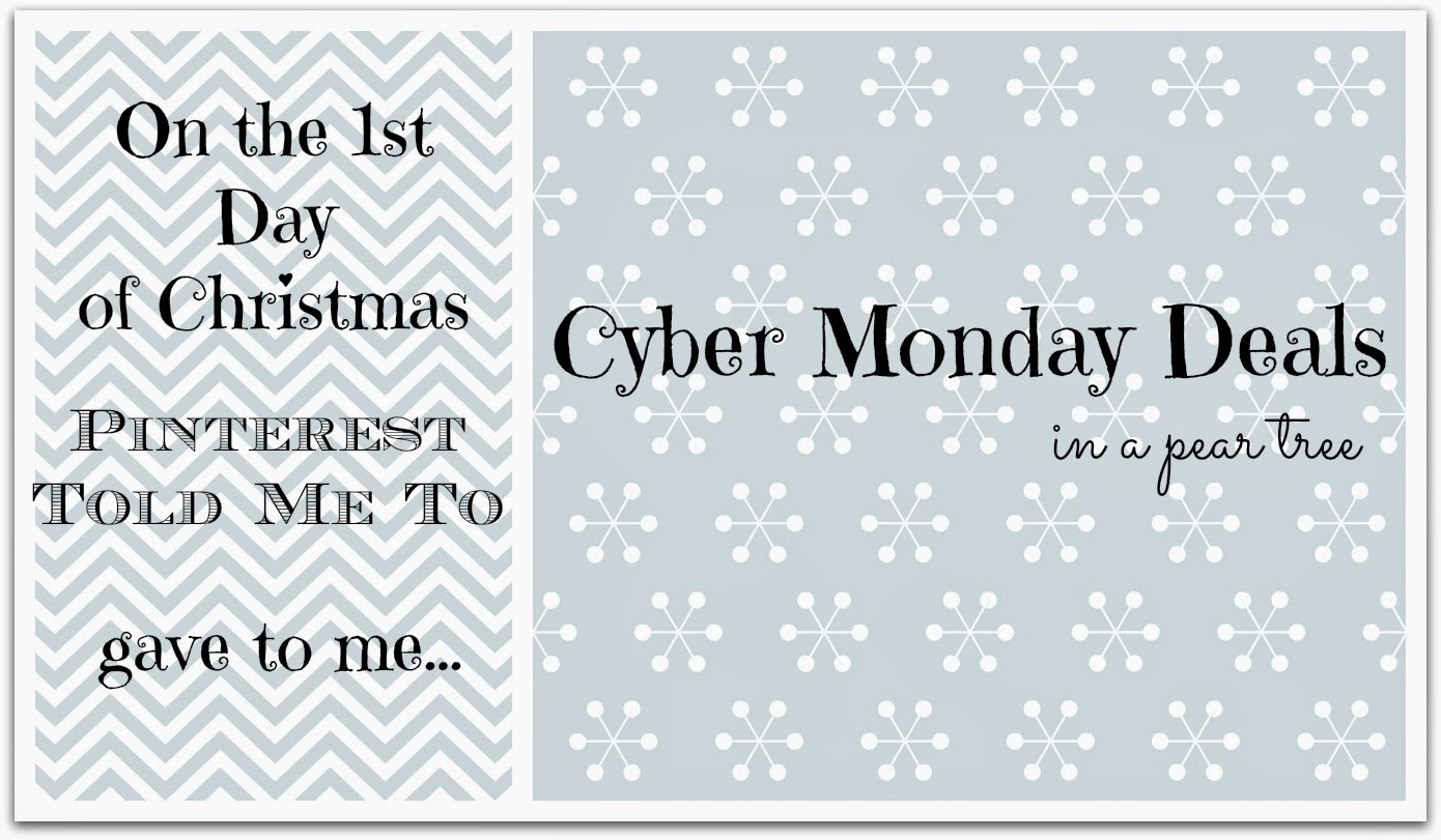 bb3150e0a5fc Sheaffer Told Me To On The 1st Day of Christmas: CYBER MONDAY DEALS in a