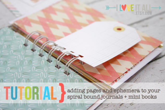 #tutorial #bind it all #spiral #notebook #scrapbooking #diy #crafts #journal