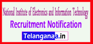 NIELIT National Institute of Electronics and Information Technology Recruitment Notification 2017 Last Date 14-06-2017