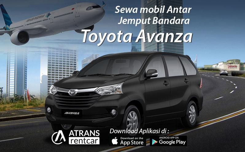 Jasa Antar Jemput bandara menggunakan Toyota Avanza