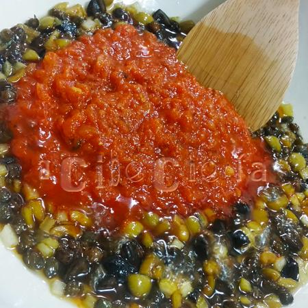 La mejor caponata siciliana de berenjenas