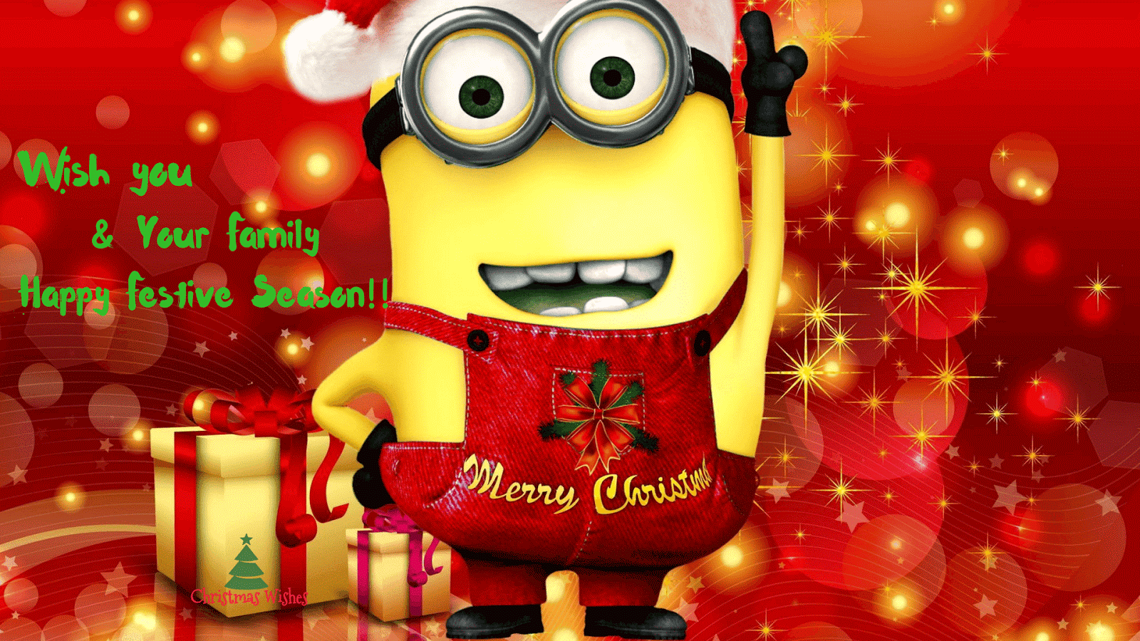 Frohe Weihnachten Minions.10 Amazing Minions Merry Christmas Wallpapers Will Blow Your Mind