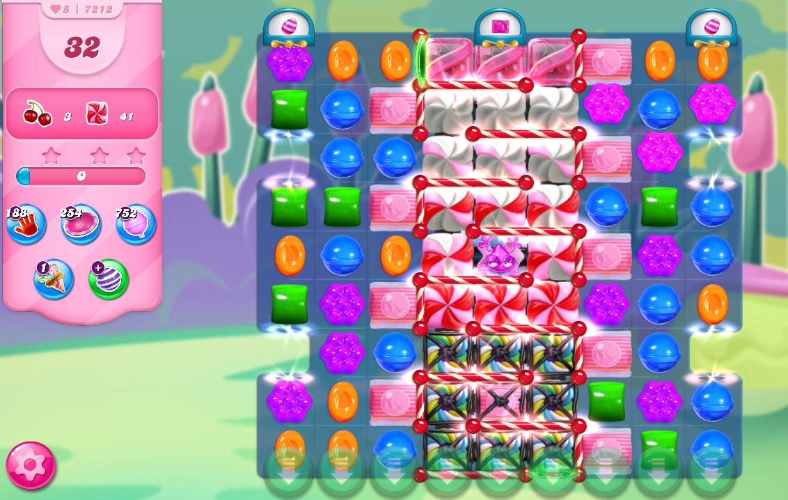 Candy Crush Saga level 7212