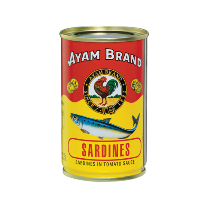 Fidgety Fingers: THAT AYAM BRAND CANNED SARDINE IN TOMATO