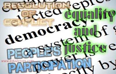 CBSE Class 6 - Civics - Key Elements of a Democratic Government (Q and A) (#cbseNotes)