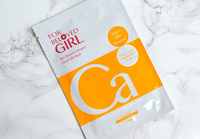 For Beloved Girl Cloud Silk Mask Instant Skin Renewal Review