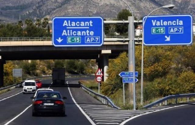 Estrada de Barcelona a Valência