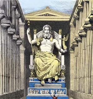 Tượng Thần Zeus (Thần Dớt)