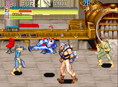 Arcade Captain Commando