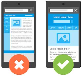 SEO móvil - Diseño web adaptable