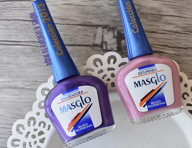 Esmaltes Rosas y Morados de Masglo