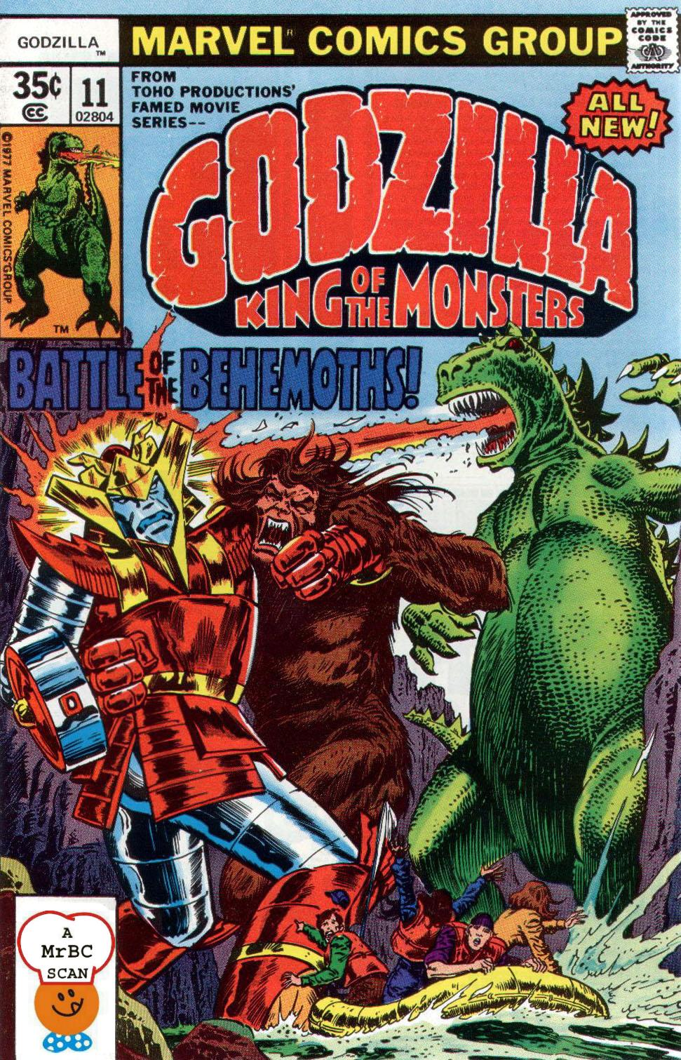 Godzilla (1977) Issue #11 #11 - English 1