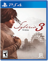 Syberia 3 Game Cover PS4