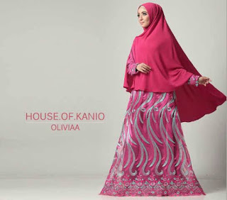 Model Baju Muslim Syar'i Remaja Terbaru