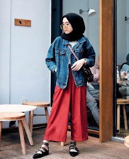 Style Hijab Semi Casual