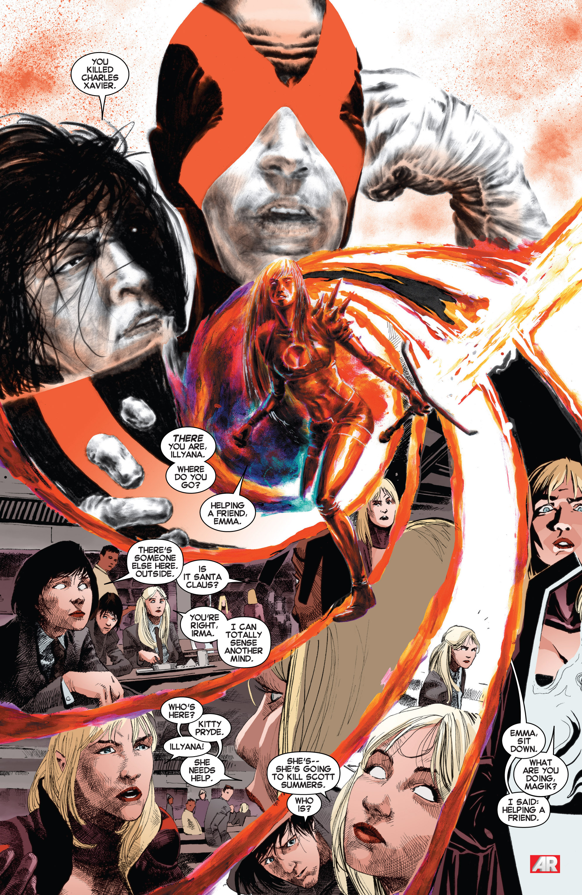 Read online Uncanny X-Men (2013) comic -  Issue # _TPB 3 - The Good, The Bad, The Inhuman - 92