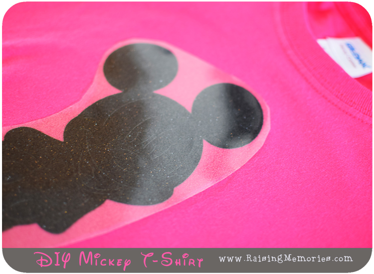 Iron On Vinyl Disney T Shirt Tutorial with Cricut