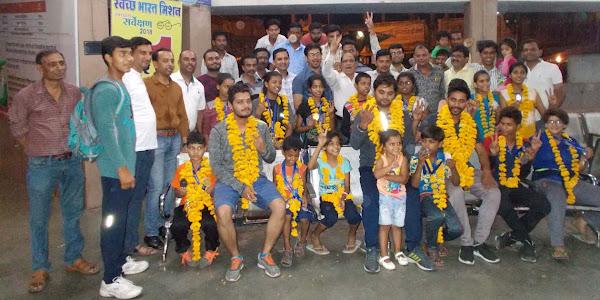 आॅल इंडिया कराते चेंपियनशीप में जिले के 16 खिलाड़ियों ने प्राप्त किए 20 गोल्ड मेडल