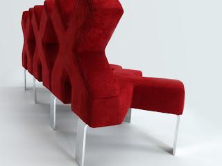 Sofá muy ingenioso ganador de un premio de diseño.