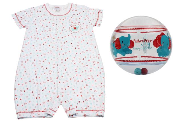 Colección especial de Baby Cottons junto a Fisher Price