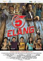 Baron sangat kesal ketika harus mengikuti orang tuanya pindah dari Jakarta ke Balikpapan Download Film 5 Elang (2011) DVDRip Full Movie