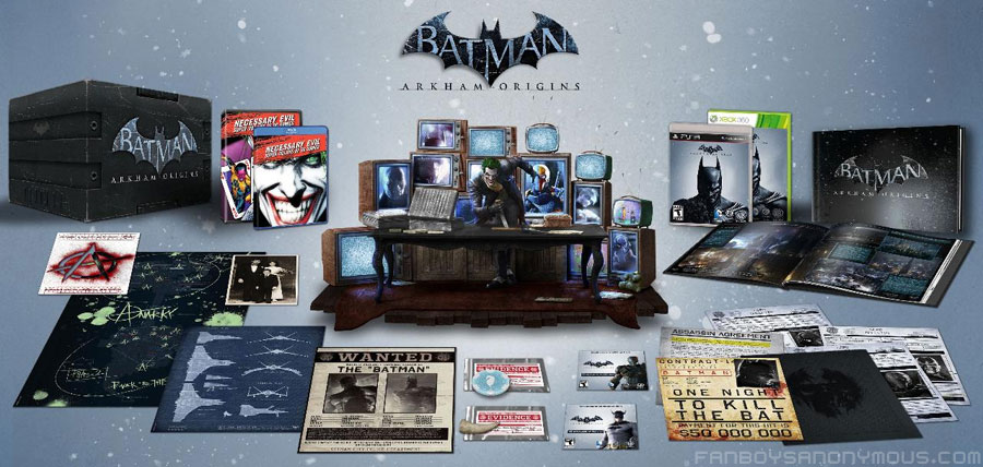 Win free copy of Batman Arkham Origins video game collector's edition