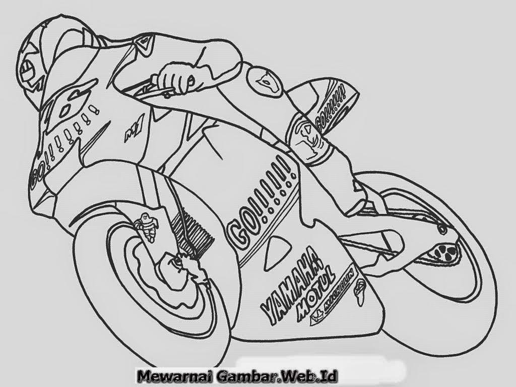 Download Koleksi 96 Gambar Motor Ninja Untuk Diwarnai