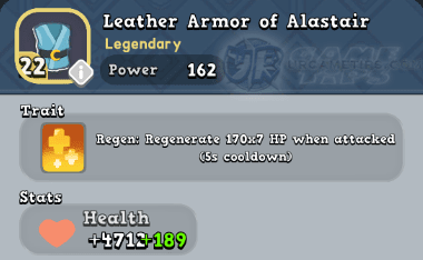 World of Legends - Leather Armor of Alastair