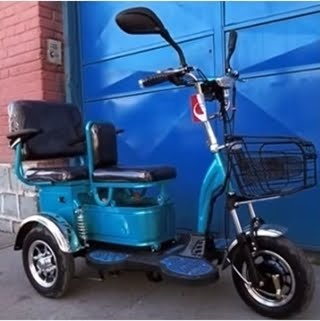 Scooter triciclo LM360