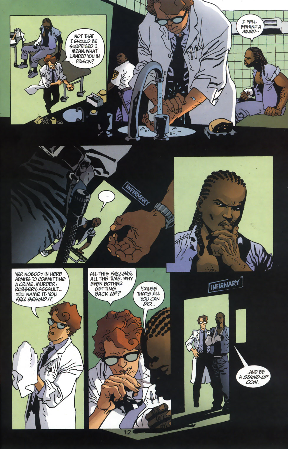 Read online 100 Bullets comic -  Issue #46 - 13