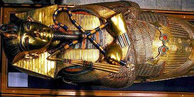Resultado de imagen de tutankamon sarcofago