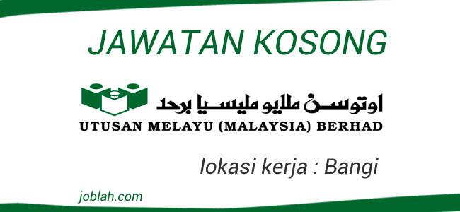 Jawatan kosong Utusan Melayu