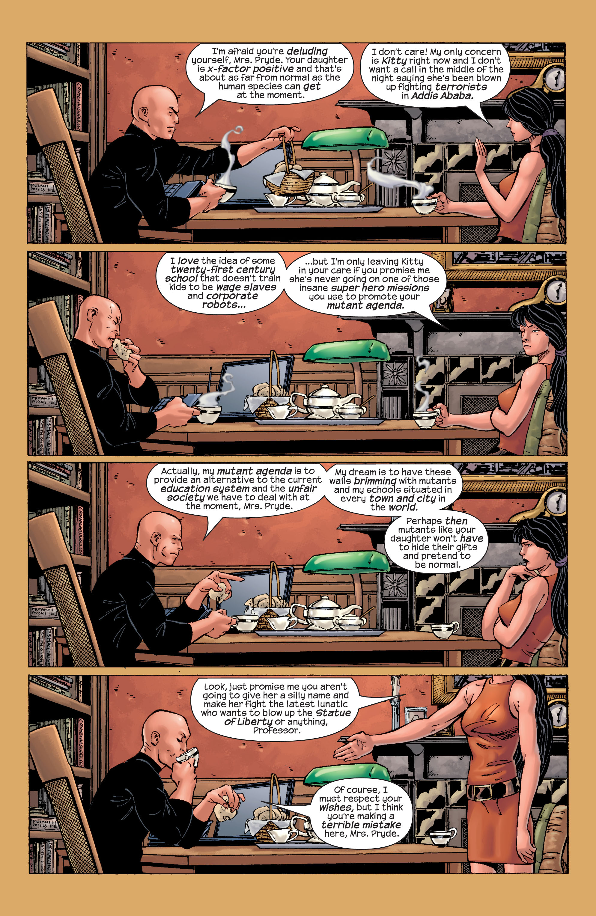 Read online Ultimate X-Men comic -  Issue #21 - 16