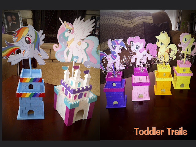 My Little Pony Centerpieces