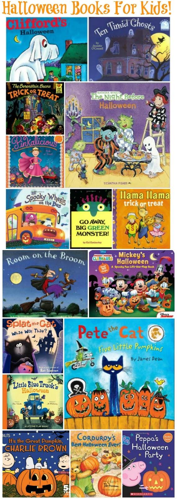 Halloween Books for Kids, Kids Halloween Books, Halloween Books, Halloween books for toddlers