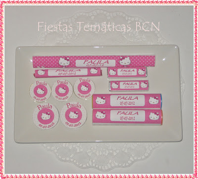 Chuches personalizadas Hello Kitty