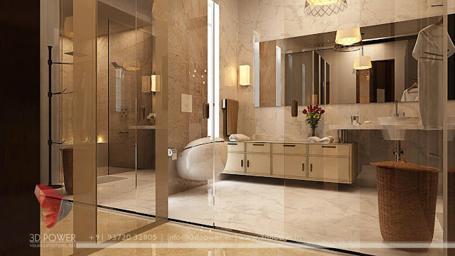contemporary design for small bathroom
