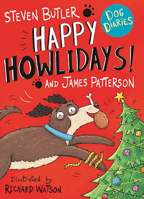 Dog Diaries Happy Howlidays book by Steven Butler and James Patterson